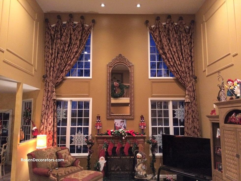 wwindow treatments Bergen County NJ coverings installer custom blinds drapery installation