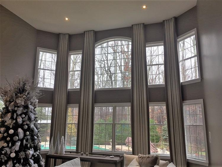 window treatments Rumson NJ coverings installer custom blinds drapery installation